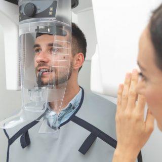 Tomografía de dientes, mandíbula o maxilar: preparación y procedimiento